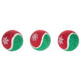 Red & Green Tennis Balls