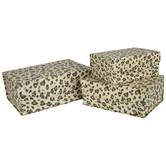 Leopard Print Nested Box Set