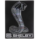 Shelby Snake Metal Sign