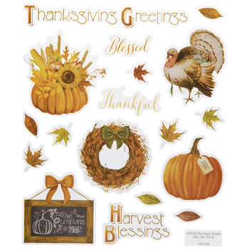 Fall Harvest Stickers