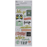 Adventure Awaits Travel Stickers