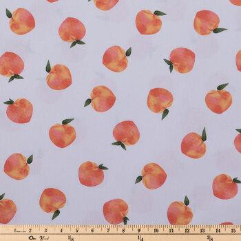 Peaches Duck Cloth Fabric