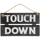 Touch Down Wood Wall Decor