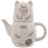 Alpaca Teapot & Cup