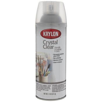 Crystal Clear Krylon Acrylic Coating Spray Finish