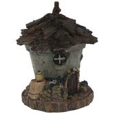 Bark Roof Fairy House