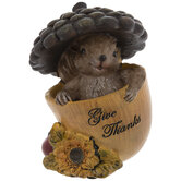 Give Thanks Squirrel & Acorn
