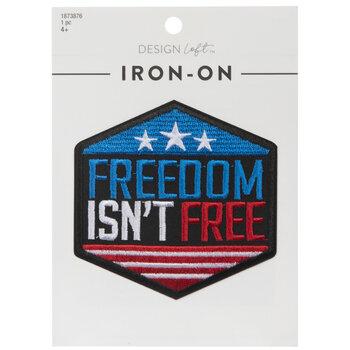 Freedom Isn't Free Iron-On Applique