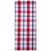 Red, White & Blue Plaid Kitchen Towel