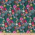 Mushroom Floral Cotton Apparel Fabric