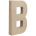 Paper Mache Letter B - 8 1/4