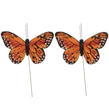 Monarch Feather Butterflies