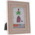 Pink Distressed Wood Frame - 4