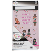Happy Planner Sticker Sheet Container