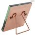 Copper Glass Panel Metal Frame - 4
