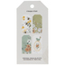 Bees & Flowers Tag Pad
