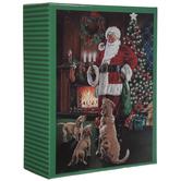 Santa With Golden Retrievers Puzzle
