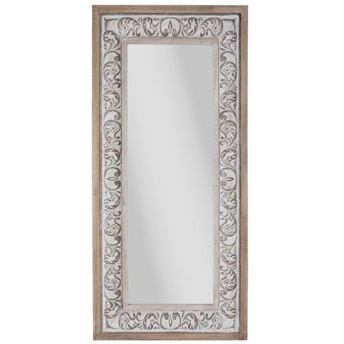 Flourish Rustic Wood Wall Mirror Hobby Lobby 1664408