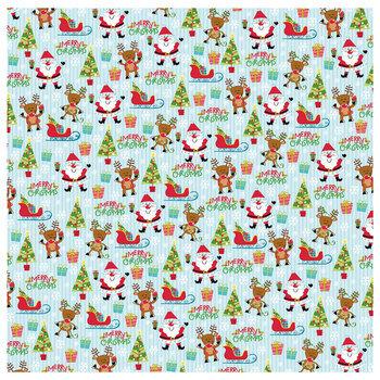 "Christmas Pals Scrapbook Paper - 12"" x 12"""