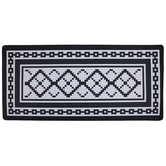 Black & White Tile Doormat