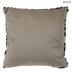 Leopard Print Faux Fur Pillow