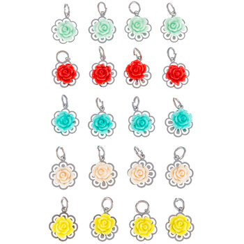 Mini Flower Charms