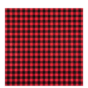 "Buffalo Check Scrapbook Paper - 12"" x 12"""