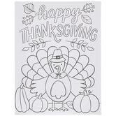Happy Thanksgiving Turkey Paint Kit