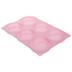 Pink Flat Disc Mold