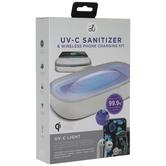 UV-C Sanitizer & Wireless Phone Charger