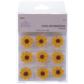 Sunflower Icing Decorations