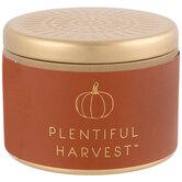 Plentiful Harvest Candle Tin