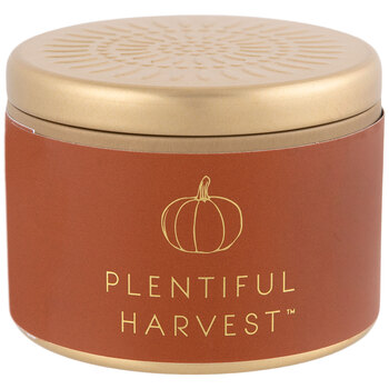 Plentiful Harvest Candle Tin