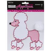 Poodle Iron-On Applique
