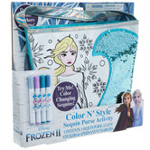 Frozen 2 Sequin Purse Kit