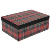 Red Plaid Gift Box