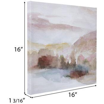 Pink Windscape Canvas Wall Decor