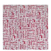 Christmas Words On Wood Gift Wrap