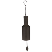 Rustic Bottle Bell Metal Wind Chime