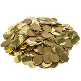 Gold Circle Confetti