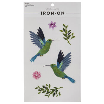 Hummingbird Iron-On Appliques