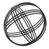 Black Wire Metal Decorative Sphere