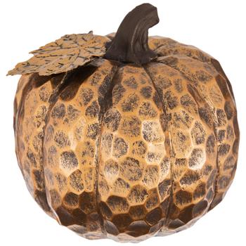 Carved Copper Pumpkin