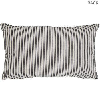 Family Ticking Striped Pillow