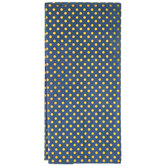 Navy & Gold Polka Dot Tissue Paper