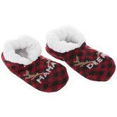 Mama Deer Sherpa-Lined Slipper Socks