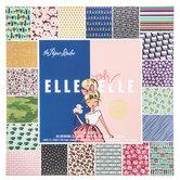 """Elle Oh Elle Foil Paper Pack - 6"""" x 6"""""""