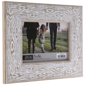 Whitewash Gnarled Wood Look Frame