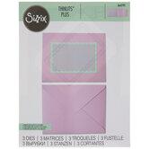 Sizzix Thinlits A2 Envelope Essentials Dies
