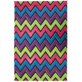 Bright Chevron Stiffened Felt Sheet